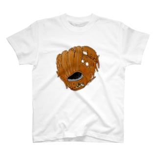 グローブ(内野手用)カラー2 T-shirts