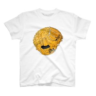 グローブ(捕手用)カラー T-shirts