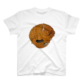 グローブ(捕手用)カラー2 T-shirts
