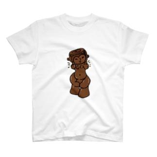 縄文のビーナス土偶ちゃん T-shirts