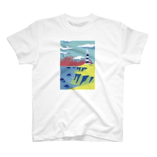 灯台-lighthouse- T-shirts