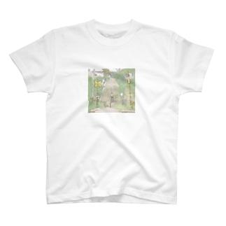 踏み切り T-shirts
