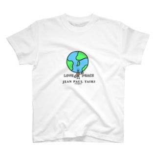 19SS JEAN  PAUL TAIKI LOVE&PEACE T-shirts