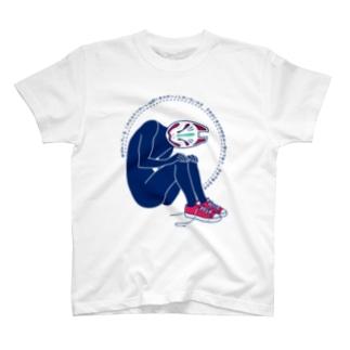 狐面マン T-shirts