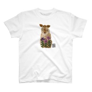 ASO2019×ウメチギリ ニホンカモシカ T-shirts