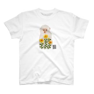 ASO2019×ウメチギリ シロザル T-shirts