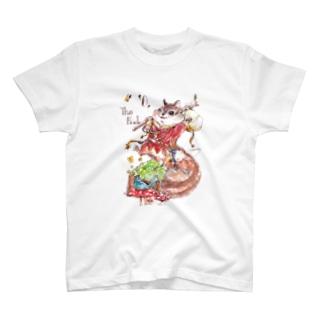 あやぞうのタロットシリーズ0『愚者』 T-shirts