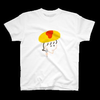 ▷            chiroruのオムラガール. T-shirts
