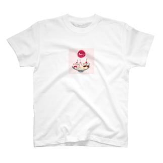 バナナスプリット ドット T-shirts
