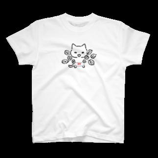 ねこぱんつのオラオラオラオラ T-shirts