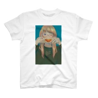 オレンジーニー T-shirts