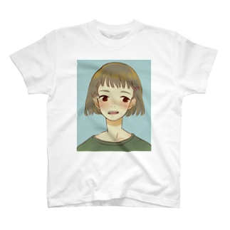 照れ嬉し T-shirts