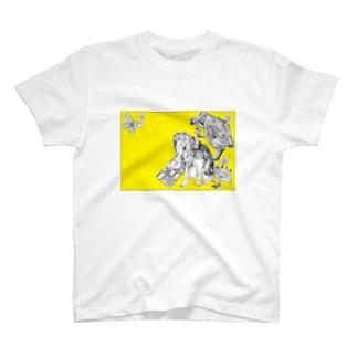 Retro Design Letter T-shirts