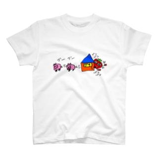 豚逃し T-shirts