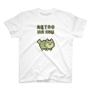 RETRO NA INU T-shirts