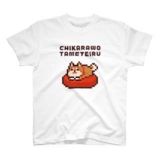 CHIKARAWO TAMETEIRU T-shirts