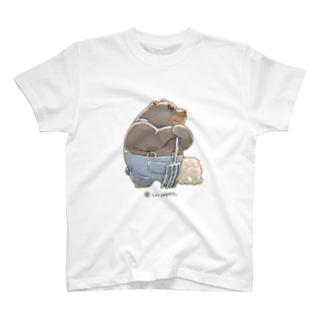 LIVINGMOOL 熊 T-shirts
