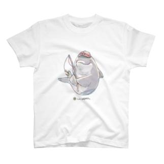 LIVINGMOOL イルカ T-shirts