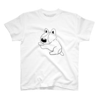 しろくろぴ T-shirts