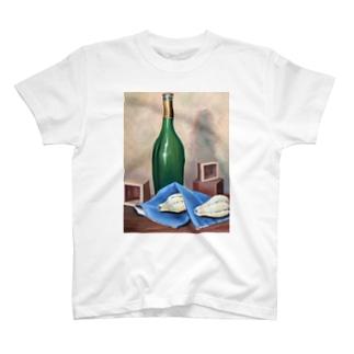 グリーンボトル T-shirts