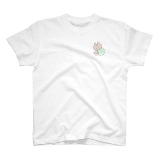 ファンシーなたまを持つおしばさま T-shirts