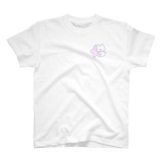 ファンシーな星をもつしろくまななみん T-shirts