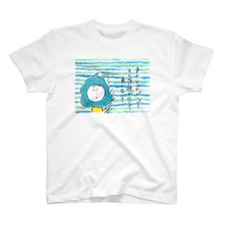 節約呼びかけTシャツ T-shirts
