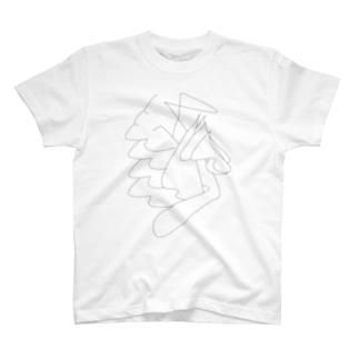 本日のデジタル・ピュア・ドローイングT_3 T-shirts