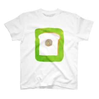 パンの中に住んでいる T-shirts