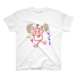 毛玉とカニ T-shirts