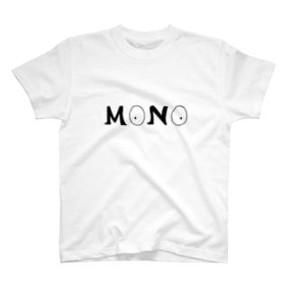 MONO(ロゴ) T-shirts