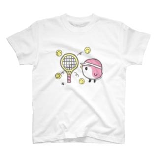 テニスと ことりTシャツ T-shirts