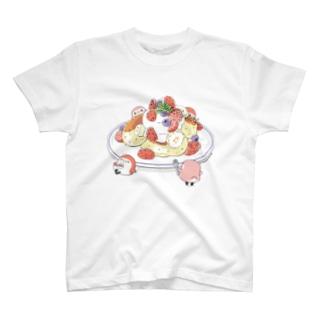 パンケーキと ことりTシャツ T-shirts