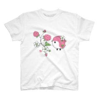 野いちごと ことりTシャツ T-shirts