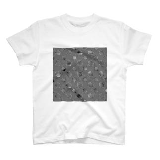 Polka Dots(Black Gingham) T-shirts