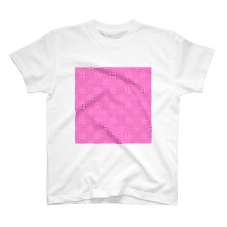 Polka Dots(Pink Gingham) T-shirts