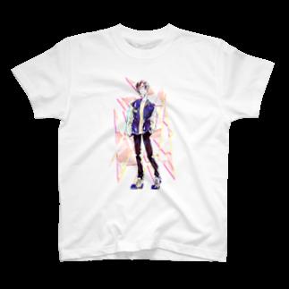 眠田ねむ蔵の春 T-shirts