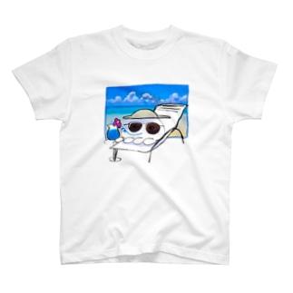 夢のバカンスくらげ T-shirts