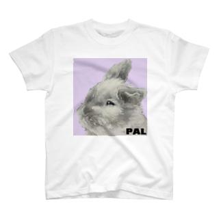 うさぎ ぱる T-shirts