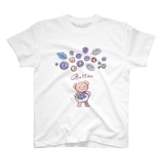 ボタンいっぱい T-shirts