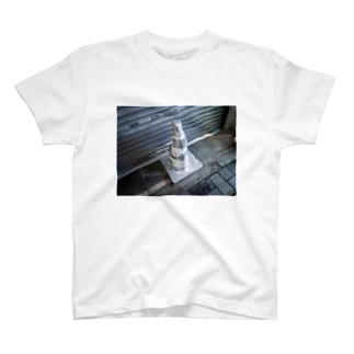 銀色パイロン T-shirts