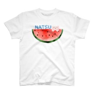 夏のスイカ T-shirts