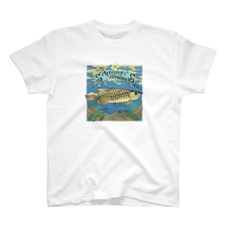 Scleropages formosus T-shirts