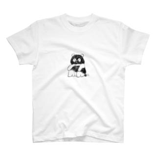 はんてんパンダ T-shirts
