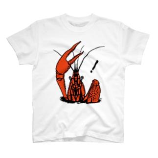 ザリガニ02 T-shirts