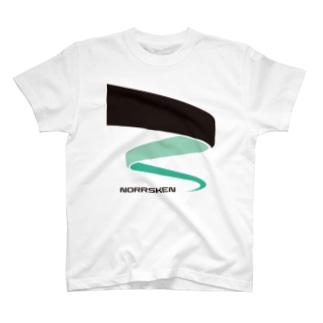 オーロラ03 T-shirts