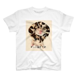 フェレット 銀サブ郎3 T-shirts