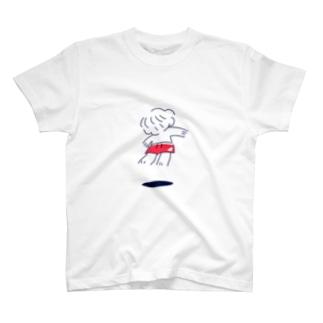 ふわっとうえにらっかぼーい T-shirts