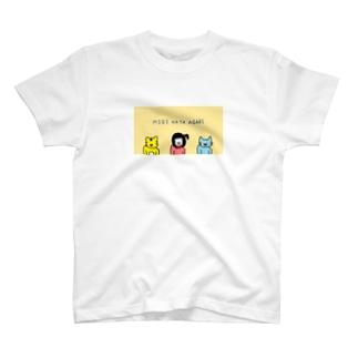 みぎかたあがり T-shirts