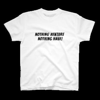 tunelogの挑戦なくして得るものなし T-shirts